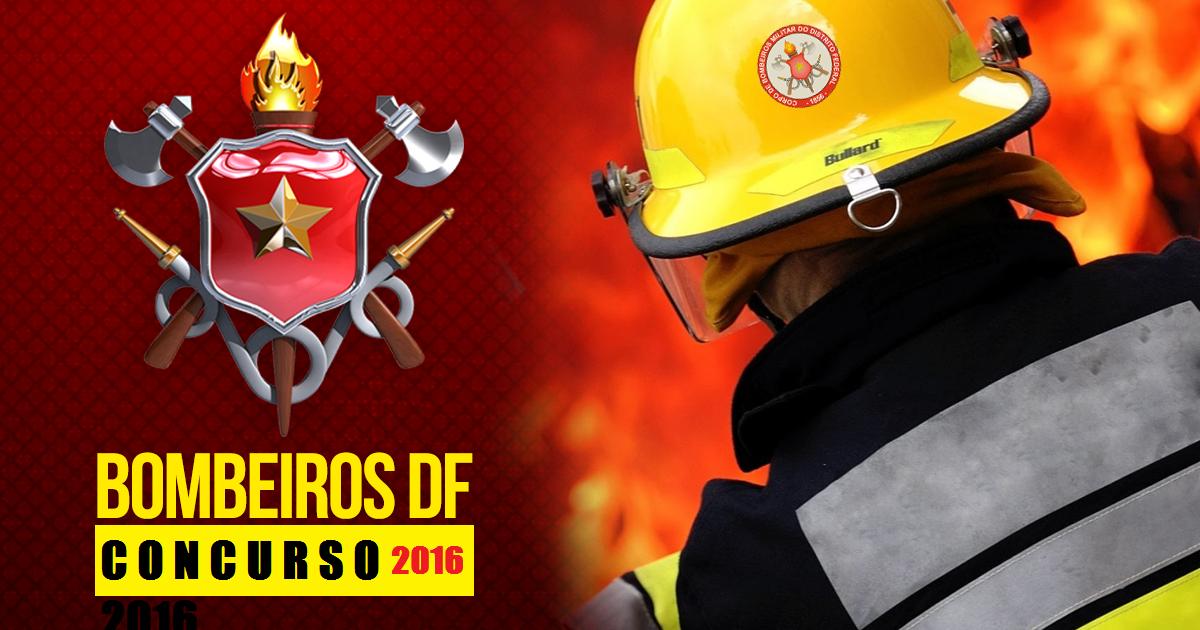 Concurso CBMDF 2016