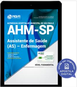 apostila ahm sp 2017
