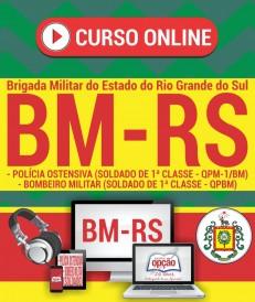curso preparatorio bm rs 2017