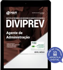 download apostila concurso diviprev