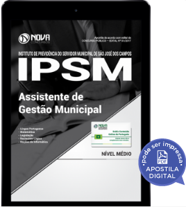 download apostila concurso ipsm