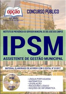 apostila concurso IPSM gratis
