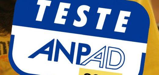 curso preparatorio teste anpad gratis
