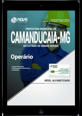 apostila prefeitura de camanducaia 2017