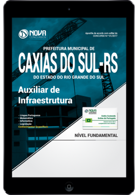download apostila caxias do sul auxiliar de infraestrutura