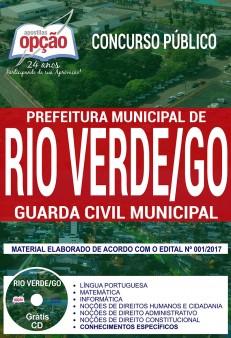 apostila concurso guarda municipal rio verde