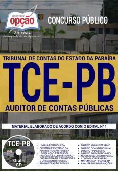 inscrição concurso tce pb