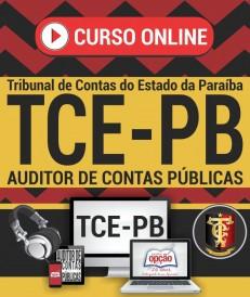 curso preparatorio tce pb
