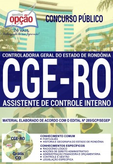 download apostila cge ro