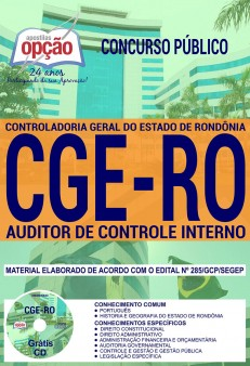 download apostila cge ro