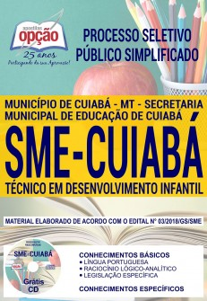 Apostila Processo Seletivo SME Cuiabá