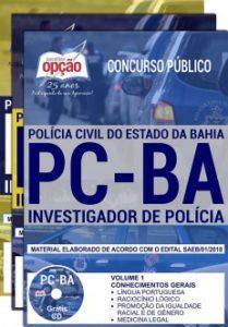 concurso polícia civil BA