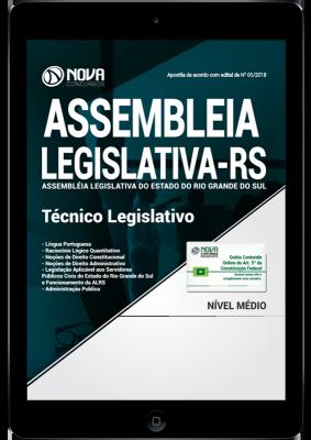 concurso assembleia legislativa rs