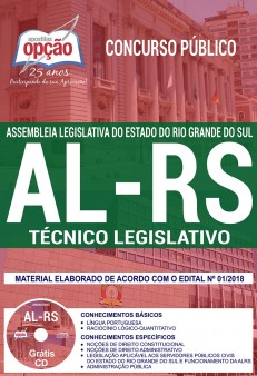 apostila AL RS 2018