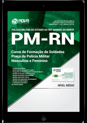 Apostila Concurso PM RN 2018 Soldado