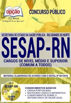 download apostila SESAP RN 2018