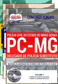Apostila Concurso PC MG delegado