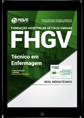 apostila concurso fhgv