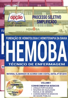 Apostila Concurso Hemoba