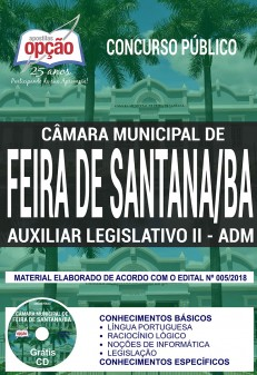 Apostila Concurso Camara Feira de Santana
