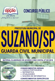 APOSTILA GUARDA CIVIL SUZANO