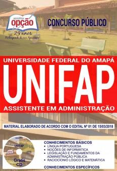 apostila concurso unifap
