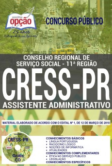 APOSTILA CONCURSO CRESS PS
