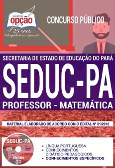apostila professor matematica PA