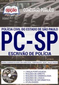 Apostila Polícia Civil SP 2018