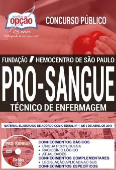 apostila fundação pro-sangue pdf