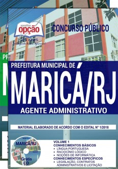 Apostila Prefeitura de Maricá RJ 2018