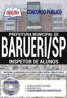 Apostila Prefeitura de Barueri 2018