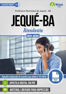Apostila Prefeitura de Jequié BA PDF