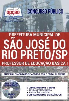 Apostila Prefeitura de São José do Rio Preto 2018