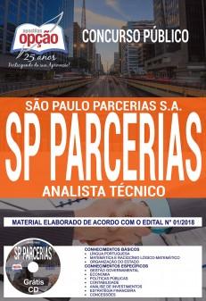 Apostila Concurso SP Parcerias PDF 2018