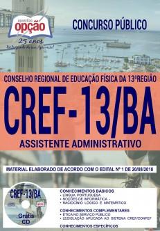 Apostila CREF 13ª Região 2018