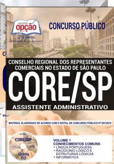 Apostila Concurso CORE SP 2018