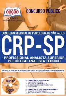 Apostila Concurso CRP SP