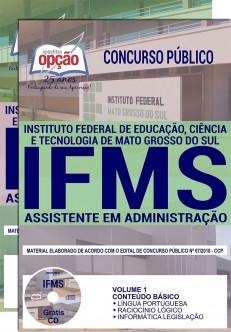 Apostila Concurso IFMS 2018
