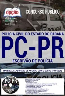 Apostila Polícia Civil PR