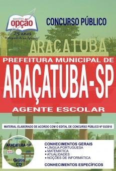 Apostila Prefeitura de Araçatuba 2018