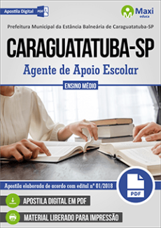 Apostila Prefeitura de Caraguatatuba 2018
