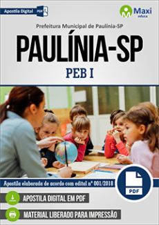 Apostila Concurso Prefeitura de Paulínia 2018