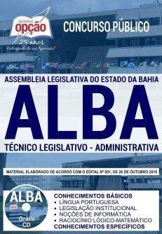 Apostila Concurso ALBA pdf