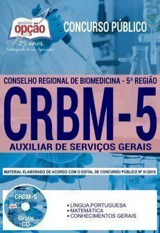 Apostila Concurso CRBM-5 2018