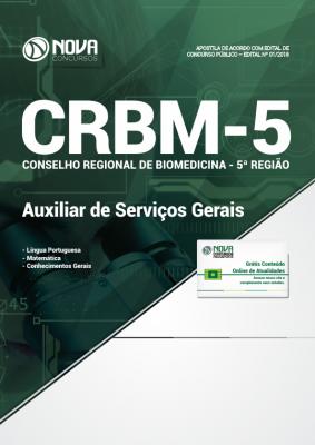 Apostila Concurso CRBM-5 - Auxiliar de Serviços Gerais