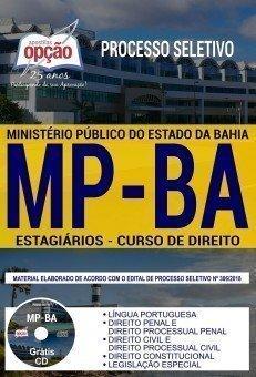 Apostila EstagiáriosMP-BA Nível Superior Incompleto