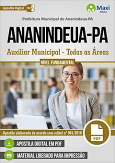 ApostilaPrefeitura de Ananindeua