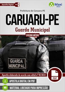 Apostila Concurso Guarda Municipal Caruaru