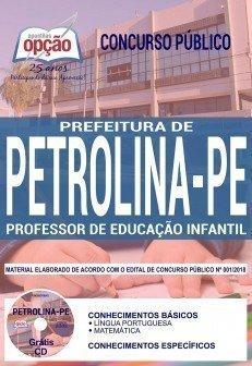 Apostila Prefeitura de Petrolina Professor de Educação Infantil